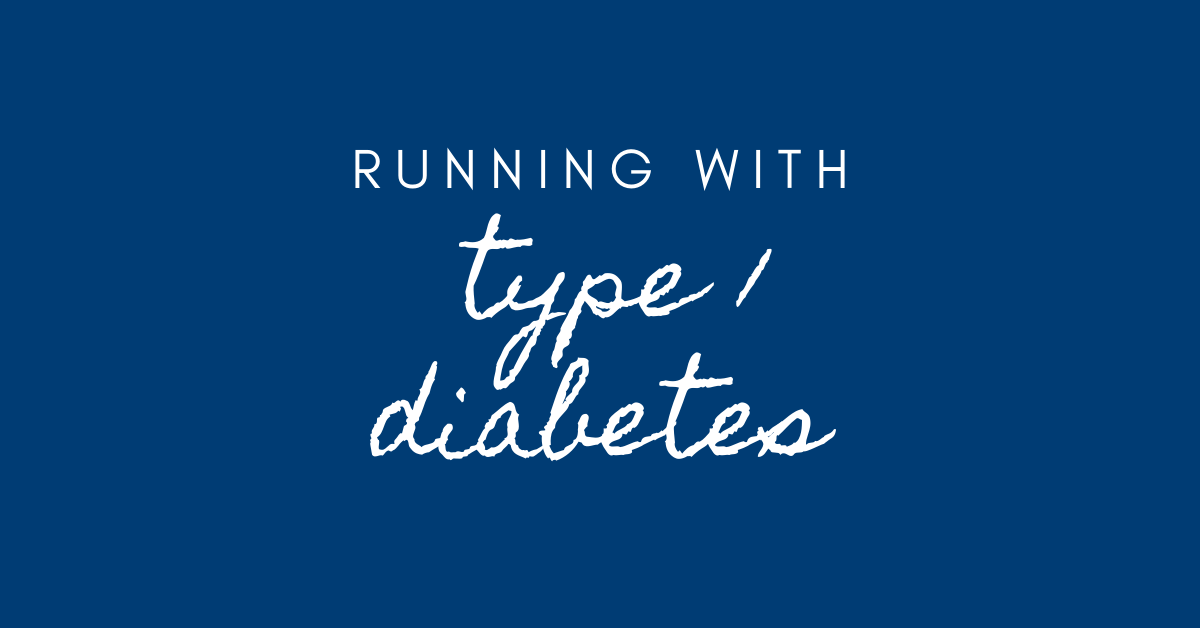 running with type 1 diabetes