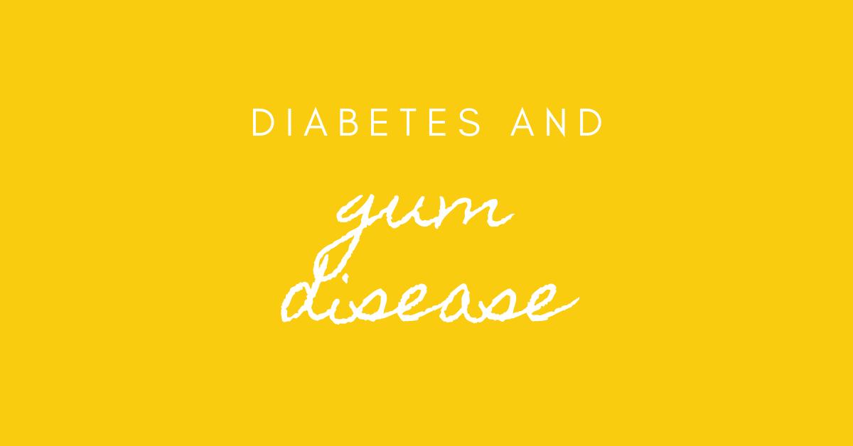 diabetes and gum disease