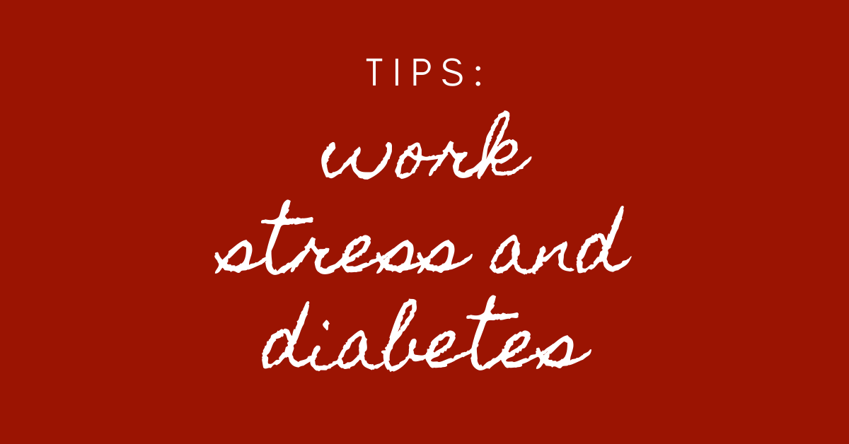 work stress and diabetes