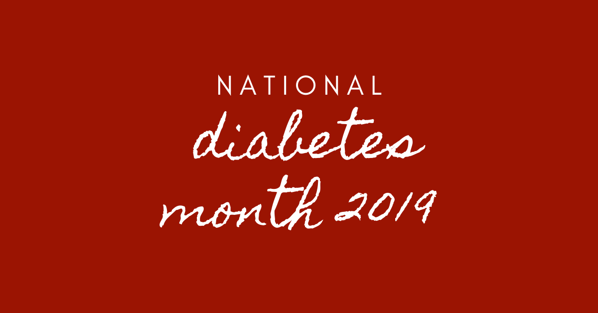 national diabetes month 2019