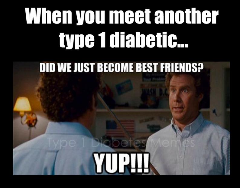 type 1 diabetics