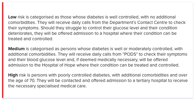 diabetes and covid-19 action plan