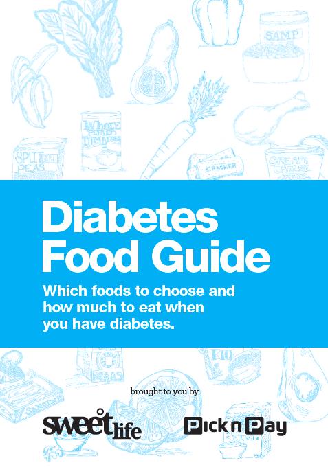 diabetes food guide